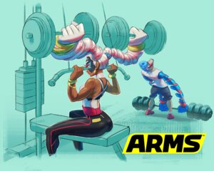 Rating: Questionable Score: 7 Tags: arms ass nintendo spring_man twintelle_(arms) User: fly24