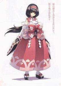 Rating: Safe Score: 16 Tags: agarest_senki asian_clothes bleed_through hirano_katsuyuki yayoi_(agarest_senki) User: Radioactive