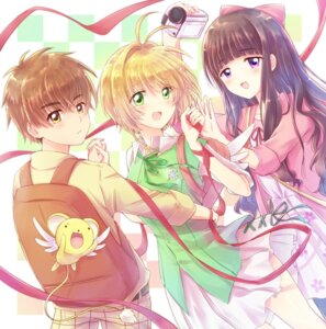 Rating: Safe Score: 14 Tags: card_captor_sakura daidouji_tomoyo dress kero kinomoto_sakura li_syaoran nyaa_(nnekoron) wings User: charunetra