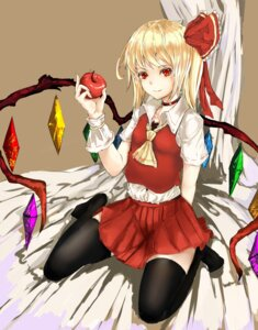 Rating: Safe Score: 26 Tags: dress flandre_scarlet thighhighs touhou xue_feng xuè_fēng User: nine-ball