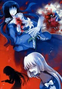 Rating: Questionable Score: 5 Tags: blood cat.lqe houraisan_kaguya moe_shoujo_ryouiki touhou yagokoro_eirin User: midzki