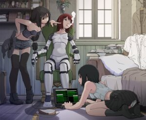 Rating: Questionable Score: 23 Tags: cleavage mecha pantsu sukabu thighhighs User: Radioactive
