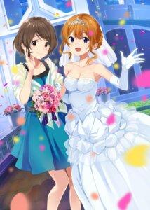 Rating: Safe Score: 20 Tags: cleavage dress mirai_denki neko_ga_kureta_maarui_shiawase wedding_dress User: saemonnokami