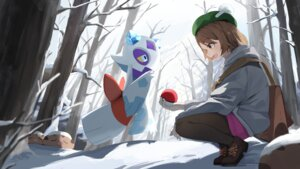 Rating: Questionable Score: 13 Tags: mansu_(user_pnmp4287) pantyhose pokemon yuuri_(pokemon) User: Dreista