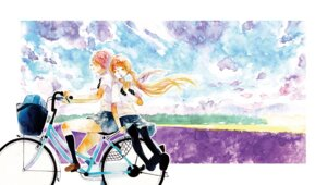 Rating: Safe Score: 12 Tags: moekon pantyhose seifuku watercolor yuri User: Radioactive
