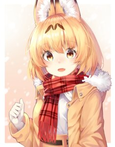 Rating: Safe Score: 29 Tags: animal_ears animal_ears_(artist) kemono_friends serval User: BattlequeenYume
