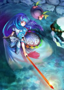 Rating: Safe Score: 32 Tags: hinanawi_tenshi st.microscope sword touhou User: Mr_GT