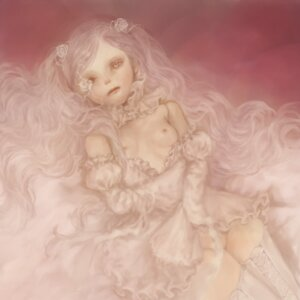 Rating: Questionable Score: 11 Tags: kirakishou loli nipples rozen_maiden thighhighs yukishiro User: charunetra