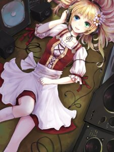 Rating: Safe Score: 33 Tags: dress headphones heterochromia minato_(shouno) thighhighs User: Radioactive