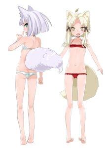 Rating: Questionable Score: 23 Tags: animal_ears ass bikini fox inari_konkon_koi_iroha kitsune kon loli swimsuits tail tokyo_ravens User: Chibi