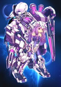 Rating: Safe Score: 23 Tags: leotard mecha_musume patchouli_knowledge suika01 thighhighs touhou User: Mr_GT