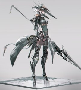 Rating: Safe Score: 21 Tags: armor heels mecha_musume pantyhose swav tail thighhighs weapon User: Mr_GT