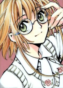 Rating: Safe Score: 8 Tags: clamp kinomoto_sakura megane tsubasa_reservoir_chronicle User: Radioactive