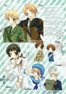 Rating: Safe Score: 8 Tags: america hetalia_axis_powers japan male north_italy sealand south_italy sweden united_kingdom wnb yuena_setsu User: midzki