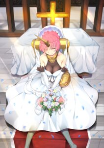 Rating: Safe Score: 23 Tags: berserker_of_black_(fate/apocrypha) dress fate/apocrypha fate/stay_night horns inu3 wedding_dress User: Mr_GT