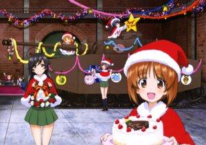 Rating: Safe Score: 25 Tags: akiyama_yukari christmas girls_und_panzer isuzu_hana kadotani_anzu kawashima_momo koyama_yuzu nishizumi_miho reizei_mako seifuku takebe_saori User: drop