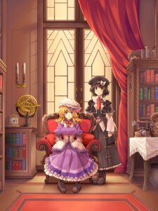 Rating: Safe Score: 14 Tags: maribel_han touhou usami_renko windart User: itsu-chan