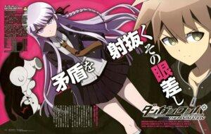 Rating: Safe Score: 15 Tags: dangan-ronpa kirigiri_kyouko monokuma naegi_makoto nemoto_misako seifuku User: drop