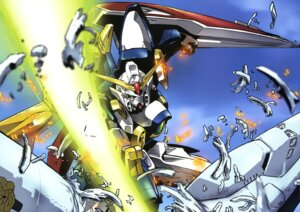 Rating: Safe Score: 14 Tags: gundam gundam_wing mecha sword wing_gundam User: Radioactive