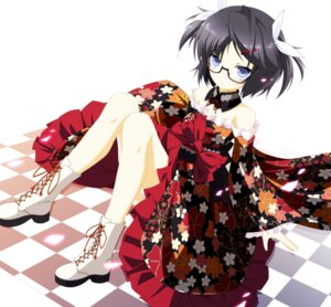 Rating: Safe Score: 33 Tags: kamisaki_sora lolita_fashion megane pantsu wa_lolita User: fairyren