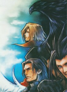 Rating: Safe Score: 8 Tags: angeal_hewley angel crisis_core final_fantasy final_fantasy_vii genesis_rhapsodos male nomura_tetsuya square_enix wings zack_fair User: Radioactive