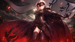 Rating: Safe Score: 32 Tags: armor fate/grand_order jeanne_d'arc jeanne_d'arc_(alter)_(fate) k-me sword thighhighs User: Mr_GT