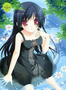 Rating: Safe Score: 43 Tags: dress narumi_yuu summer_dress wet_clothes User: midzki