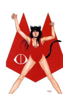 Rating: Safe Score: 3 Tags: animal_ears cats_eye cleavage houjou_tsukasa kisugi_hitomi nekomimi swimsuits tail User: Radioactive