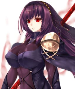 Rating: Questionable Score: 47 Tags: bodysuit erect_nipples fate/grand_order fate/stay_night minarai_tenna scathach_(fate/grand_order) weapon User: mash