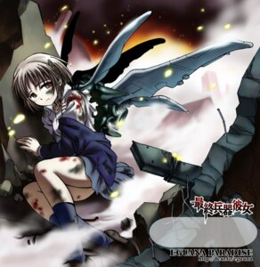 Rating: Safe Score: 1 Tags: blood chise saishuu_heiki_kanojo wings User: Radioactive