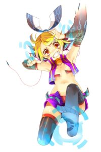 Rating: Questionable Score: 13 Tags: feet kagamine_rin no_bra rojiko thighhighs vocaloid User: charunetra