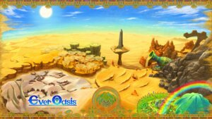 Rating: Questionable Score: 6 Tags: ever_oasis grezzo landscape nintendo wallpaper User: fly24