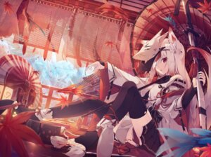 Rating: Safe Score: 98 Tags: animal_ears feet nagishiro_mito sword tail thighhighs User: Mr_GT