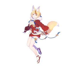 Rating: Questionable Score: 18 Tags: animal_ears enkyo_yuuichirou fire_emblem fire_emblem_heroes fire_emblem_if garter kitsune nintendo selkie tail User: fly24
