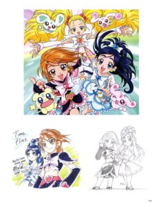 Rating: Questionable Score: 3 Tags: autographed bike_shorts dress futari_wa_pretty_cure pretty_cure sketch User: drop