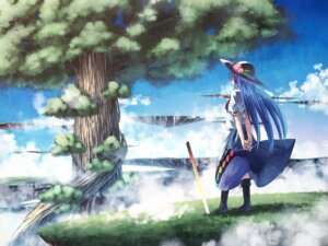 Rating: Safe Score: 34 Tags: hinanawi_tenshi landscape notsugimi sword touhou wallpaper User: sylver650