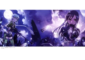 Rating: Safe Score: 36 Tags: abec armor gun gun_gale_online kirito sinon sword_art_online User: drop