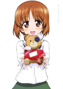 Rating: Safe Score: 10 Tags: bandages girls_und_panzer nishizumi_miho seifuku valentine User: drop