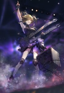 Rating: Safe Score: 17 Tags: dress guitar sketch swd3e2 tagme User: BattlequeenYume