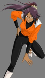 Rating: Safe Score: 23 Tags: bleach shihouin_yoruichi transparent_png vector_trace User: gohanrice
