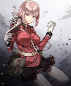 Rating: Safe Score: 38 Tags: chibirisu fate/grand_order fate/stay_night florence_nightingale_(fate/grand_order) gun pantyhose uniform User: mash