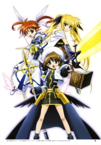 Rating: Safe Score: 12 Tags: fate_testarossa mahou_shoujo_lyrical_nanoha mahou_shoujo_lyrical_nanoha_a's mahou_shoujo_lyrical_nanoha_the_movie_2nd_a's okuda_yasuhiro takamachi_nanoha yagami_hayate User: drop