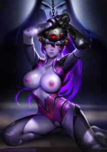 Rating: Explicit Score: 64 Tags: bodysuit bondage breasts liang_xing nipples no_bra nopan open_shirt overwatch pussy pussy_juice reaper signed tattoo torn_clothes uncensored widowmaker User: charunetra