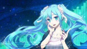 Rating: Safe Score: 41 Tags: haru_aki hatsune_miku vocaloid wallpaper User: fairyren