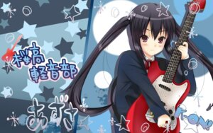 Rating: Safe Score: 16 Tags: guitar k-on! nakano_azusa seifuku wallpaper yuyui User: Manabi