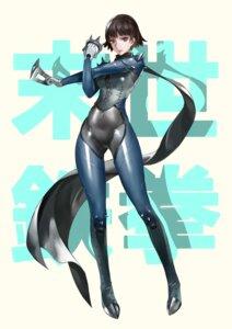 Rating: Safe Score: 30 Tags: bodysuit jiji_(pixiv10646874) persona_5 weapon User: chihaya-kagetsuya