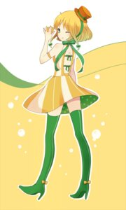 Rating: Safe Score: 15 Tags: c.c._lemon c.c._lemon_(character) ruchiru thighhighs User: vanilla