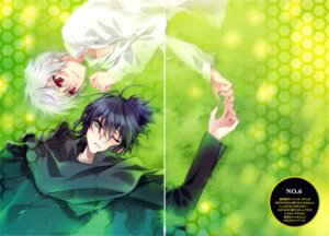 Rating: Safe Score: 9 Tags: carnelian gap male nezumi no.6 scanning_artifacts shion_(no.6) User: charunetra