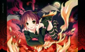 Rating: Safe Score: 34 Tags: devil kantoku thighhighs User: midzki