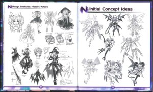 Rating: Safe Score: 9 Tags: character_design choujigen_game_neptune crease pantyhose pointy_ears sketch stockings thighhighs wings witch User: Karm80